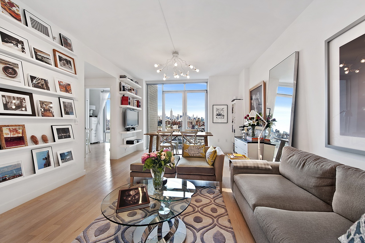 Perfectlty appointed tribeca jewel with panoramic northern for Tribeca apartment for sale